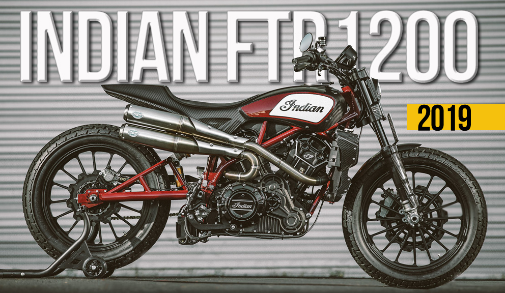 A Indian Motorcycle revelou em Biarritz que irá produzir a FTR 1200