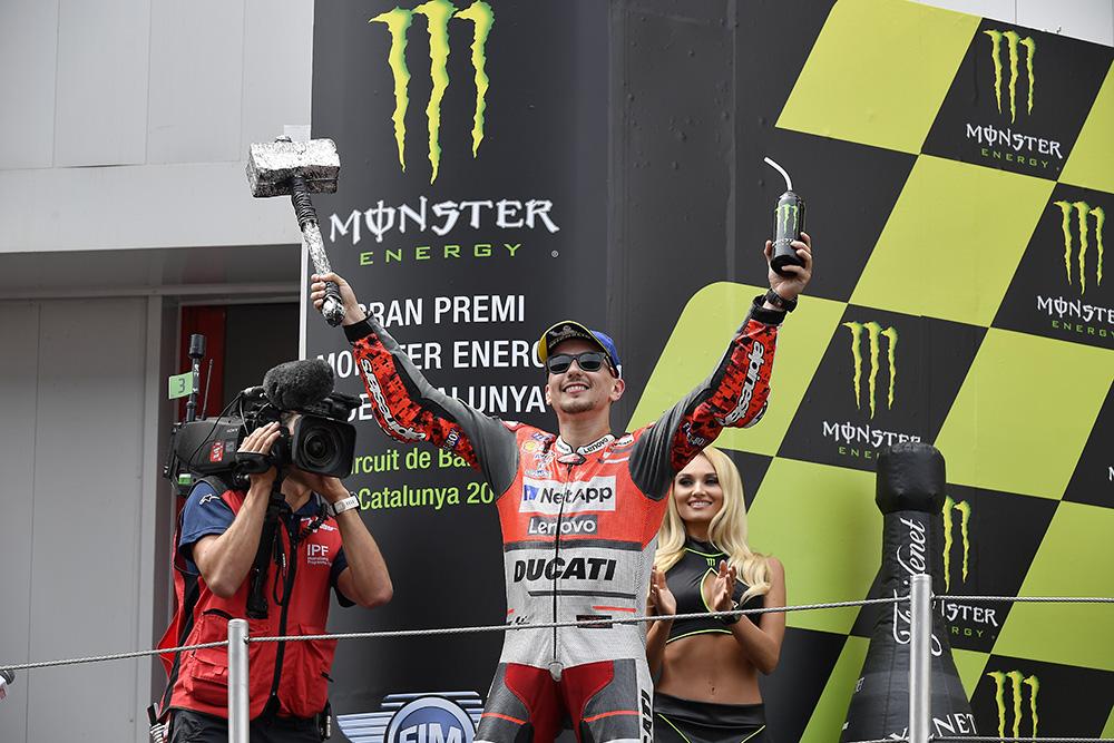 MotoGP: Jorge Lorenzo com lugar na história da Ducati