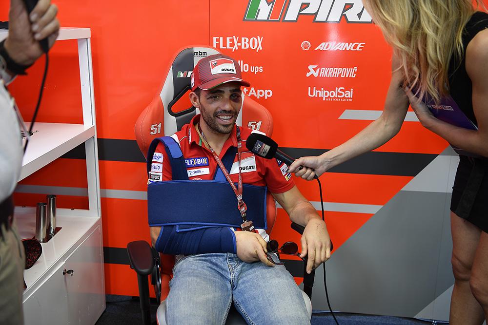 MotoGP: Michele Pirro regressa à competição