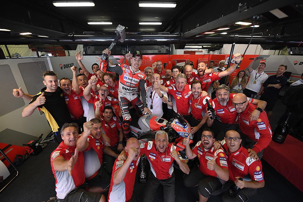 """MotoGP – Marc Márquez: """"A Ducati é diferente nas vitórias de Lorenzo e Dovizioso"""""""