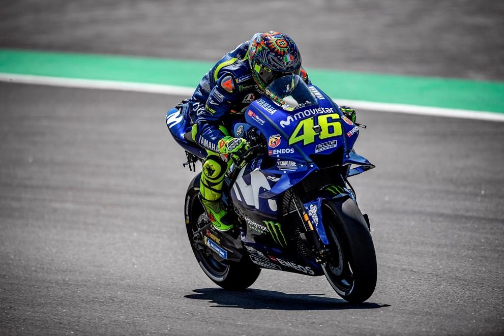 """MotoGP – Valentino Rossi: """"É mau estar sem vencer há um ano"""""""