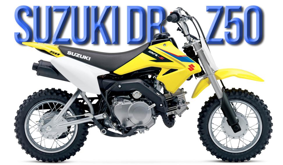 Suzuki DR-Z50 de 2019 – Dirigida aos pequenos pilotos principiantes