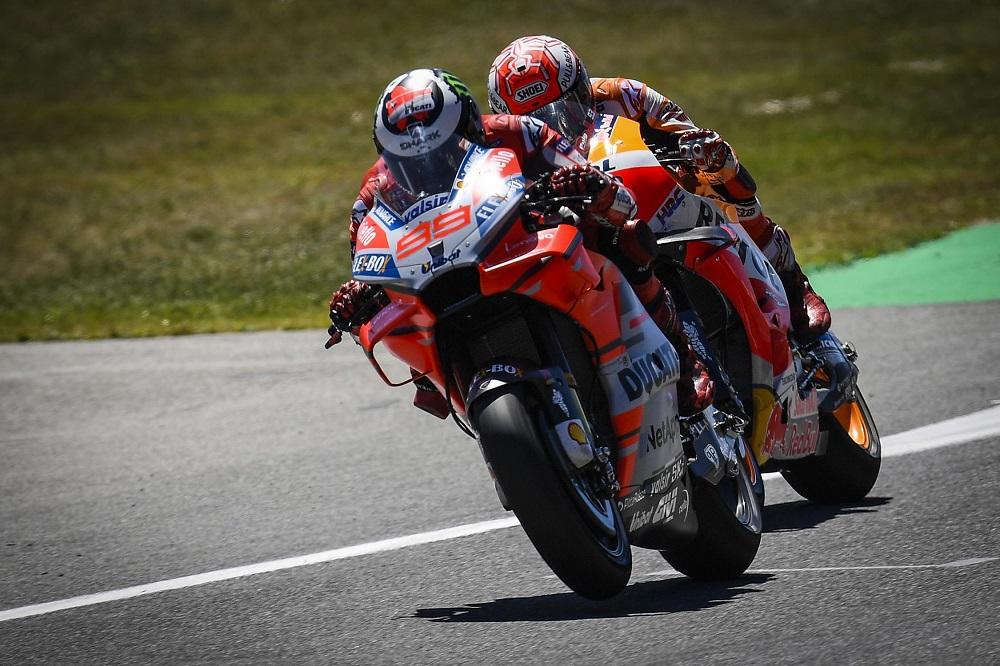 """MotoGP – Marc Márquez: """"Não existe tensão com a chegada de Jorge Lorenzo"""""""
