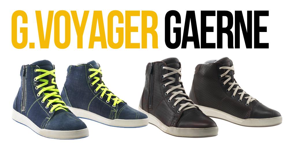 GAERNE apresenta a linha G.VOYAGER – A cidade, a moto e os ténis para o dia a dia.