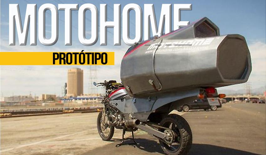 MotoHome – A primeira casa do mundo numa moto