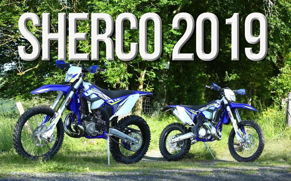 SHERCO 2019 – Gama de Motos da Marca Francesa actualizada para 2019