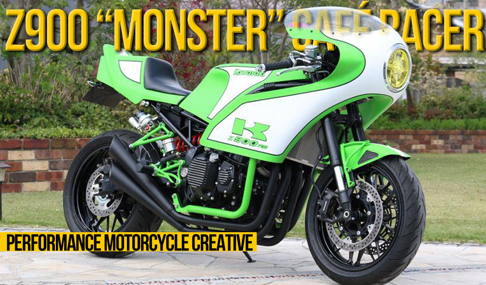 KAWASAKI Z900RS preparada pelo atelier japonês Performance Motorcycle Creative