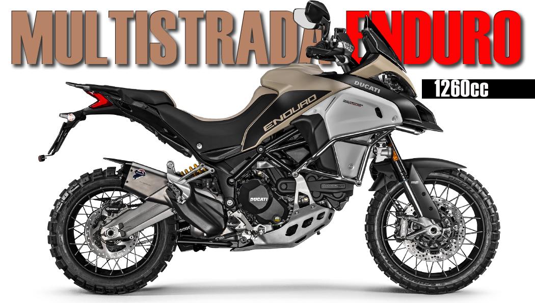 Ducati MultiStrada 1260 Enduro – Novo Motor com 158 hp