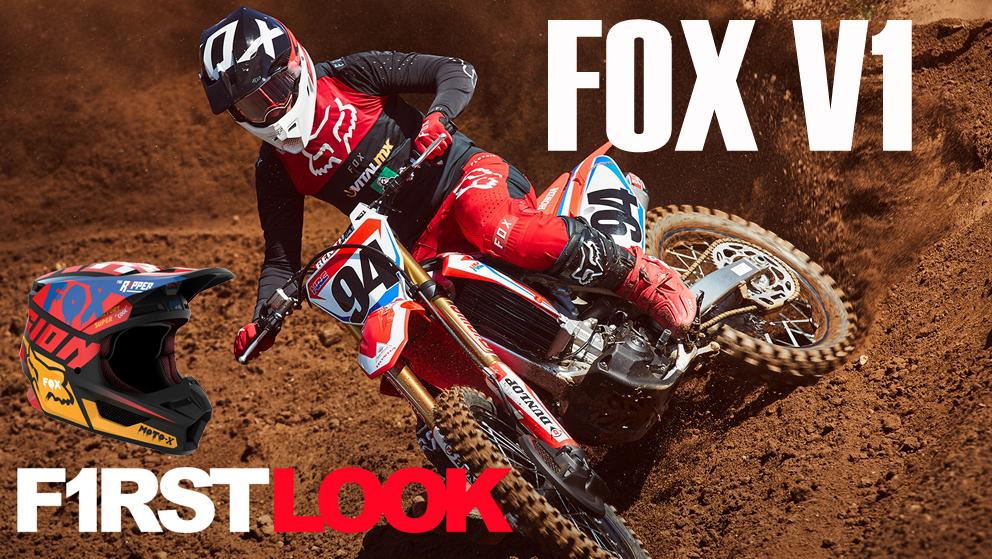Novo Capacete FOX V1 2019 – Com tecnologia MVRS