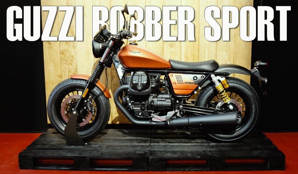 Moto Guzzi V9 Bobber Sport – Novidade 2019
