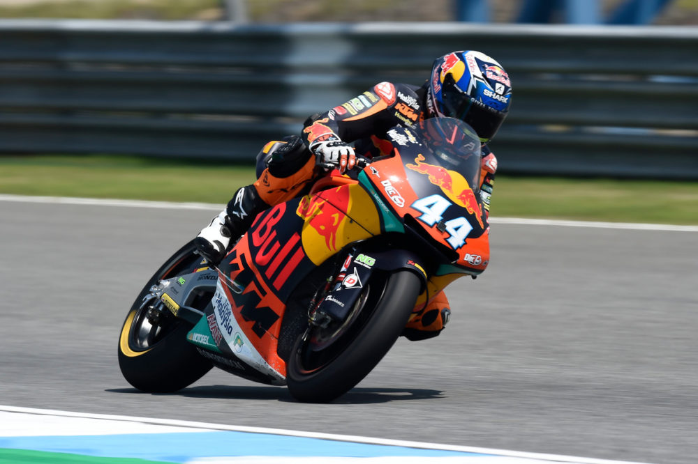 Moto2: Miguel Oliveira é 6º em dia 'misto'