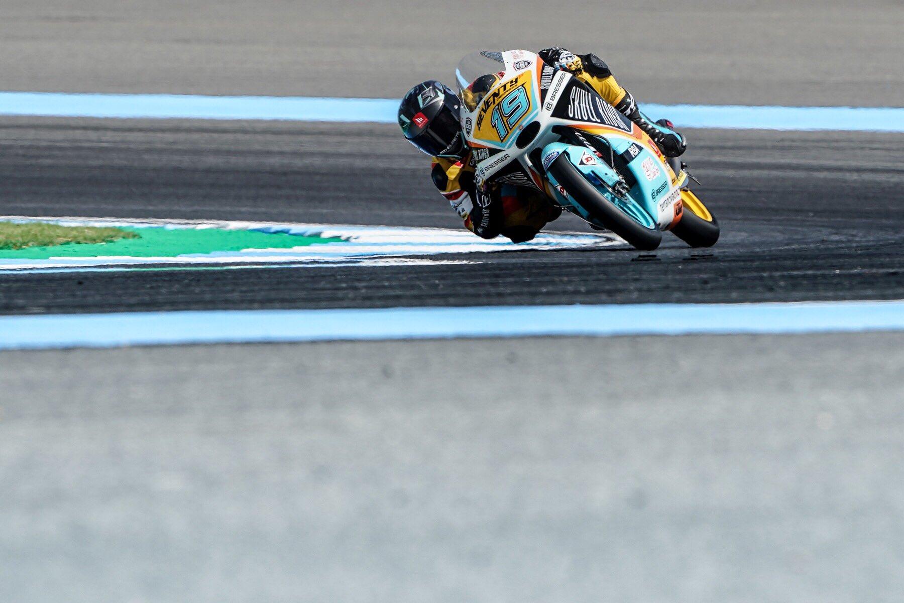 Moto3: Gabriel Rodrigo na pole