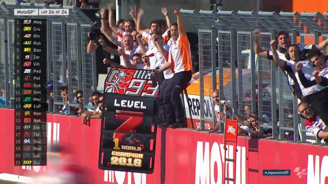 MotoGP: Marc Márquez campeão do mundo