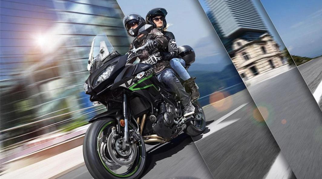 Kawasaki Versys 650 de 2019 – Novas cores