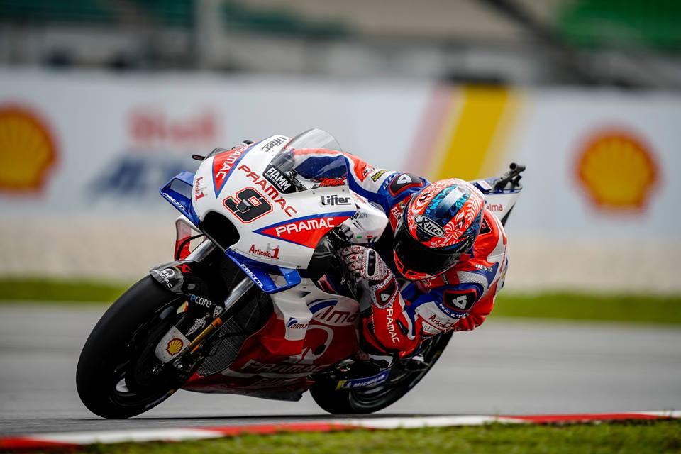 MotoGP: Danilo Petrucci sabe nadar