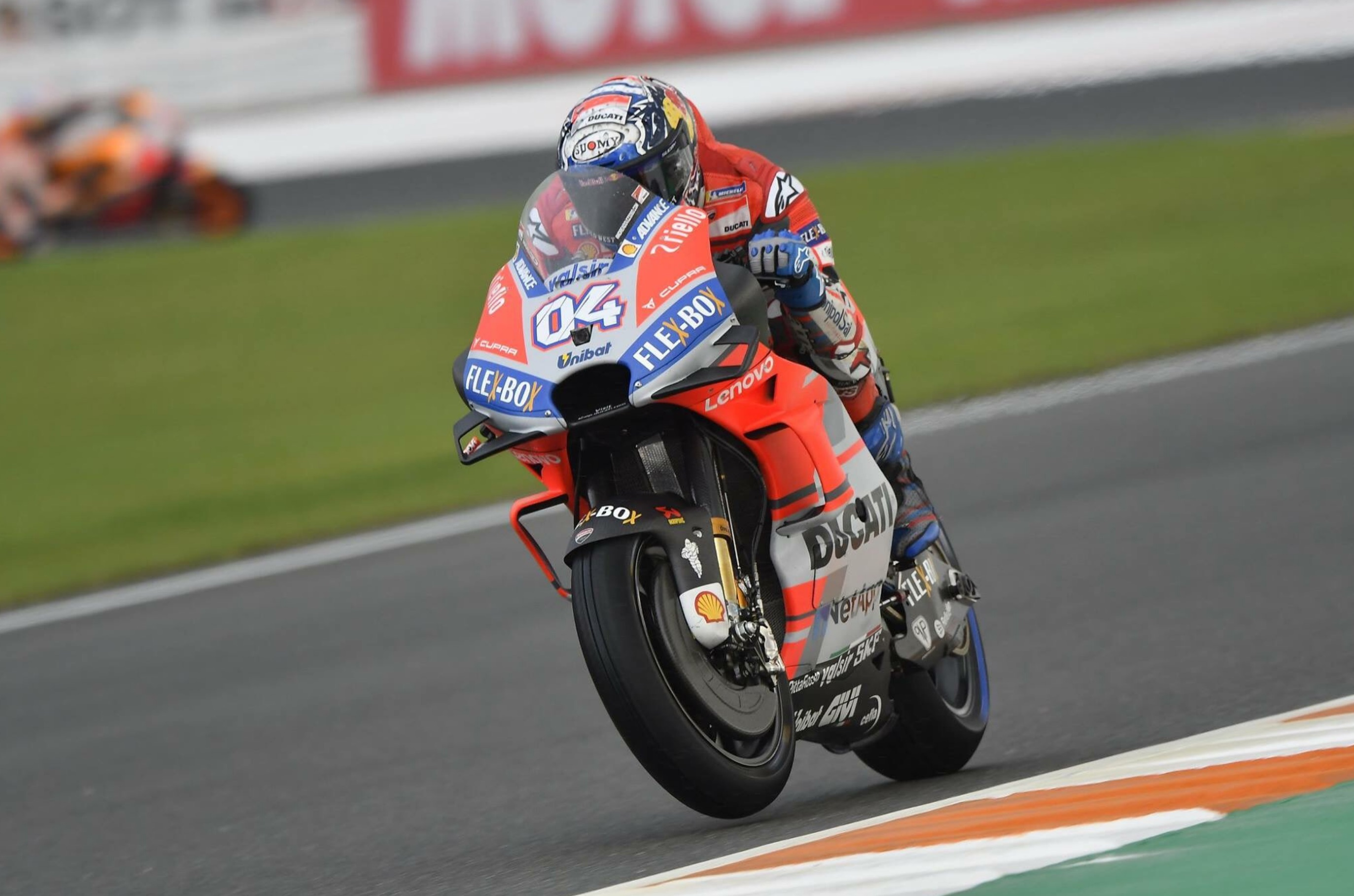 MotoGP: Andrea Dovizioso termina ano com vitória