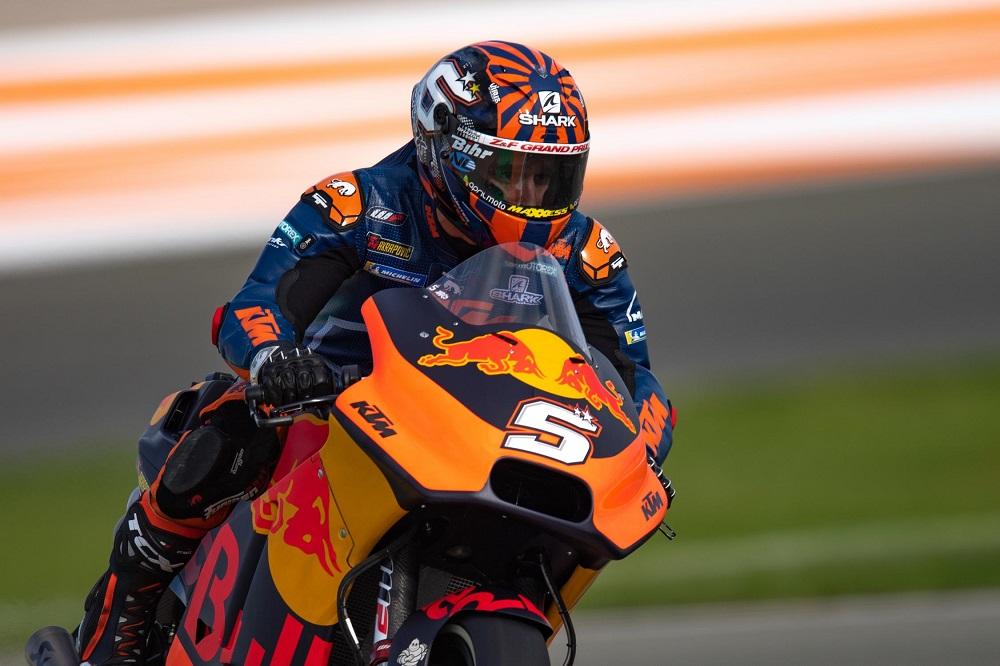 MotoGP, Vídeo: Johann Zarco já estraga a KTM RC16