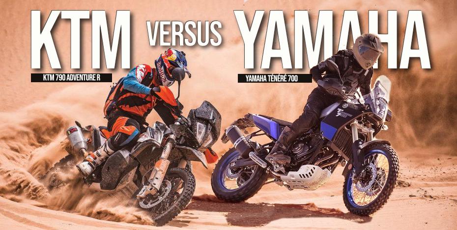 KTM 790 ADVENTURE R versus YAMAHA TÉNÉRÉ 700 – O duelo mais aguardado do ano.