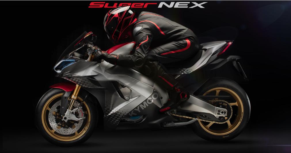 KYMCO SuperNEX – A primeira moto super desportiva e eléctrica da marca