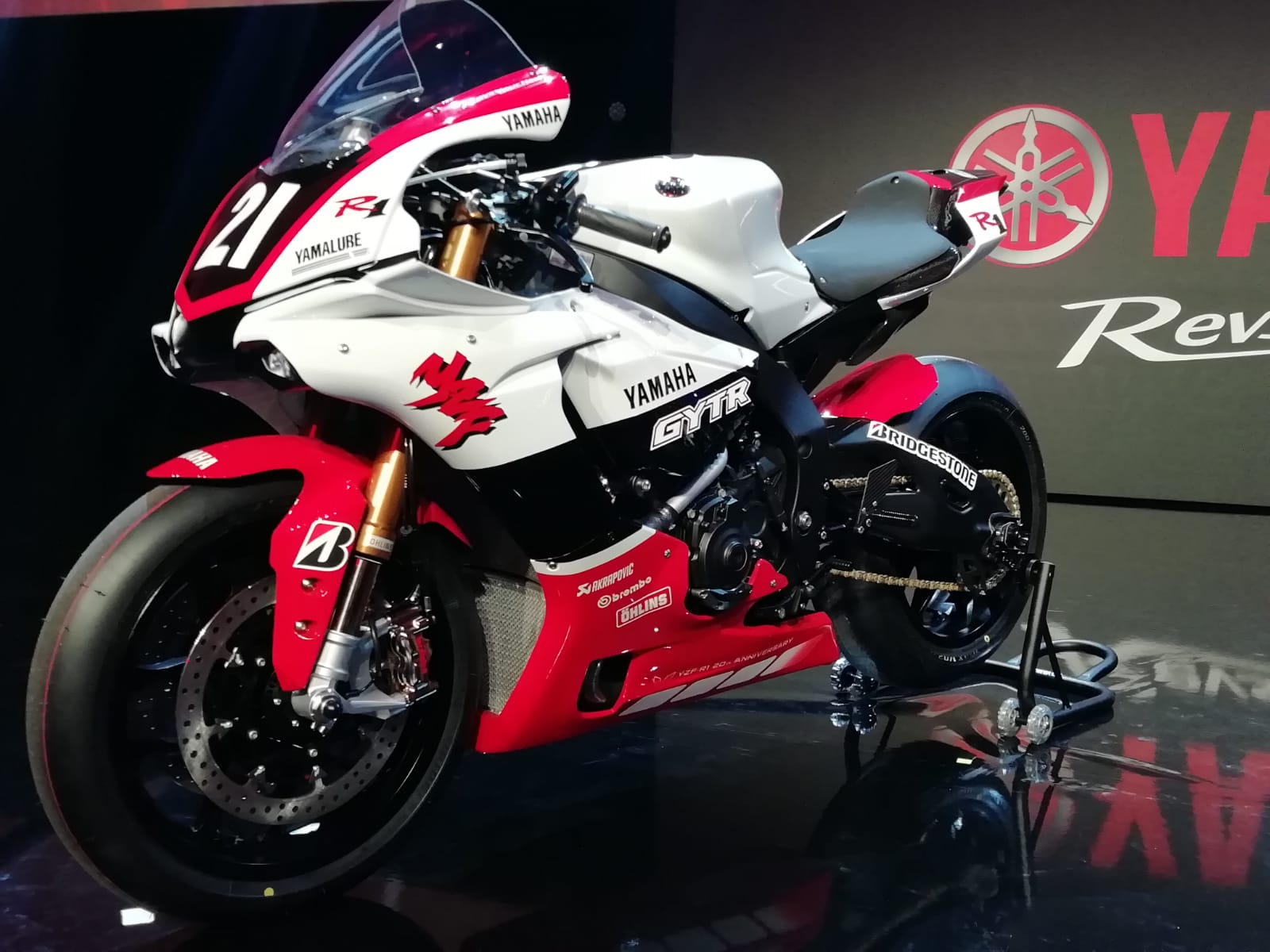 Eicma Milao Yamaha Apresenta A Nova Desportiva R1 Gytr 2019