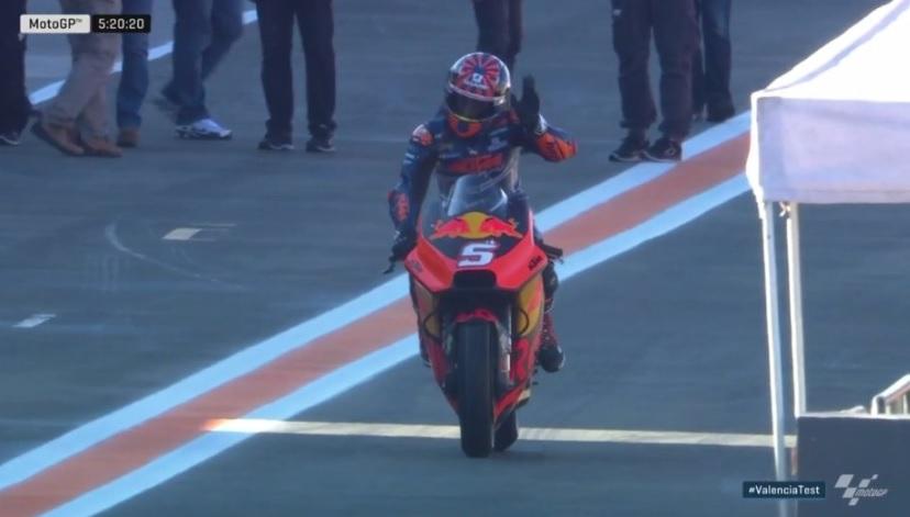 MotoGP: Johann Zarco abre a pista