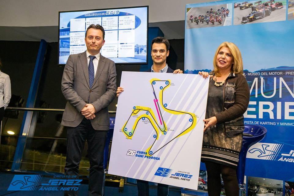 MotoGP: Dani Pedrosa dá nome a curva em Jerez