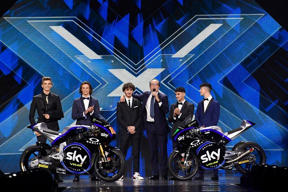 Sky VR46 apresenta-se para 2019