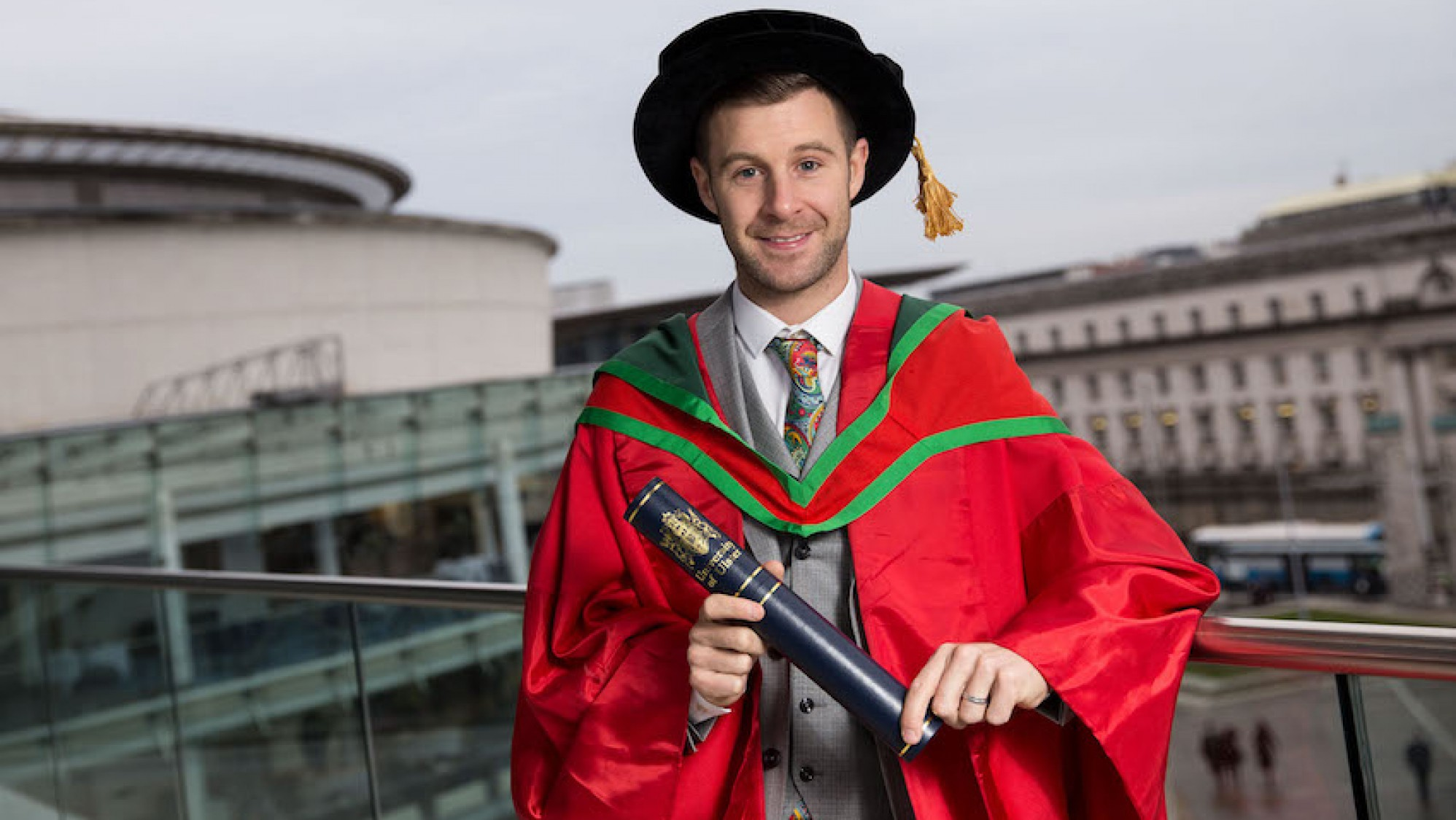 Jonathan Rea homenageado pelo Universidade do Ulster