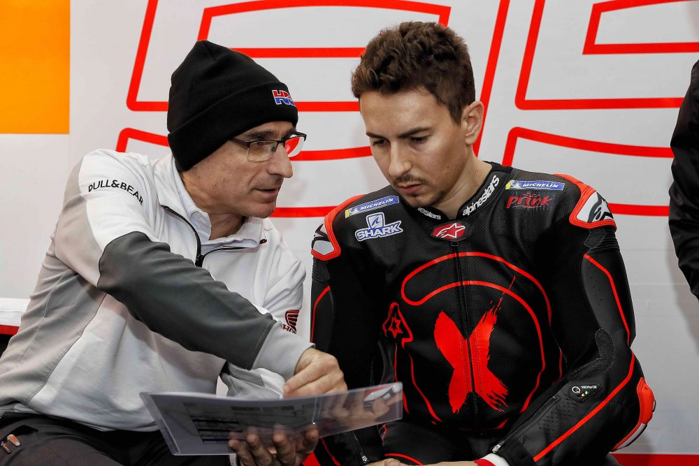 MotoGP: Jorge Lorenzo lesionado