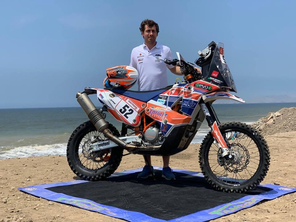 Dakar, Etapa 9: David Megre às portas de Lima