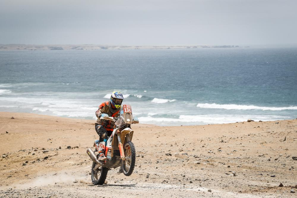 Dakar, Etapa 10: Queda quase roubou sonho a Miguel Caetano
