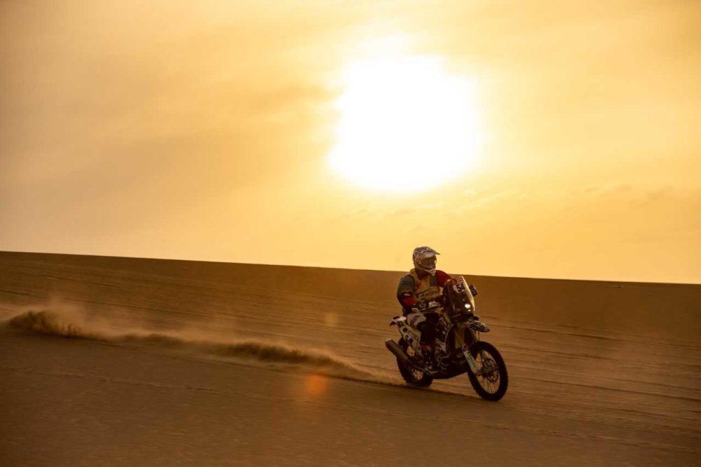 Dakar, Etapa 9: Fausto Mota já está no top 30