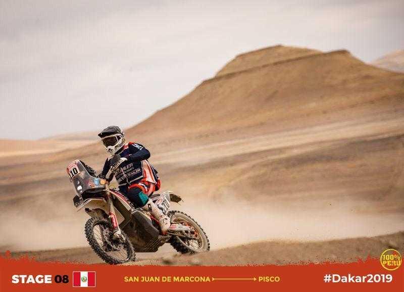 Dakar, Etapa 9: Três portugueses no top 30