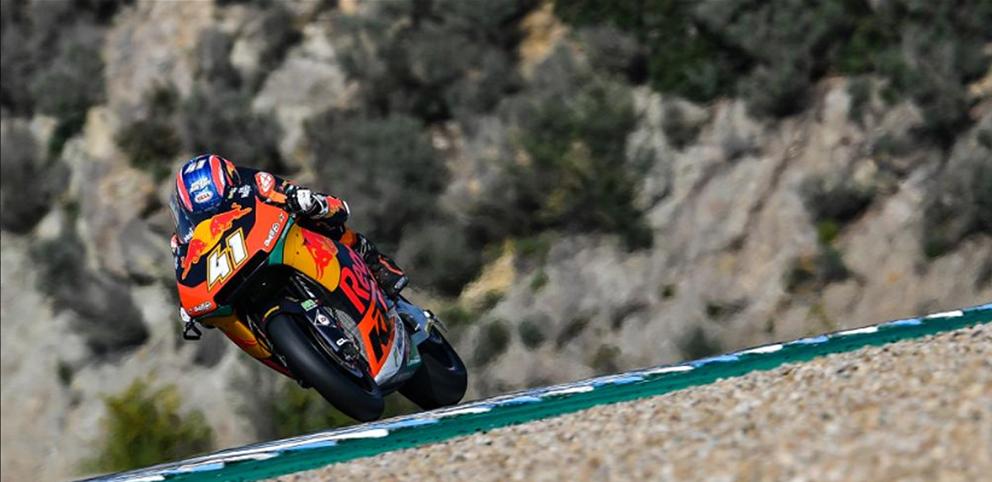 Moto2, Jerez – Binder domina o último treino