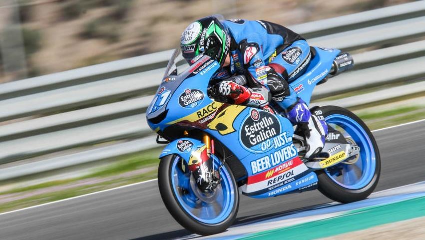 Moto3: Sergio Garcia surpreende no arranque dos testes