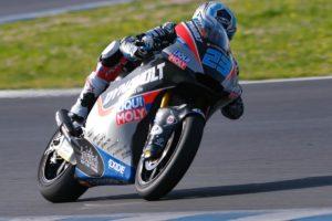 Moto2, Valencia: Schrotter lidera Q1 após queda de Bulega thumbnail