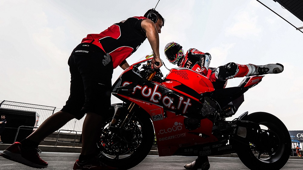 SBK: Ducati testa em Aragão