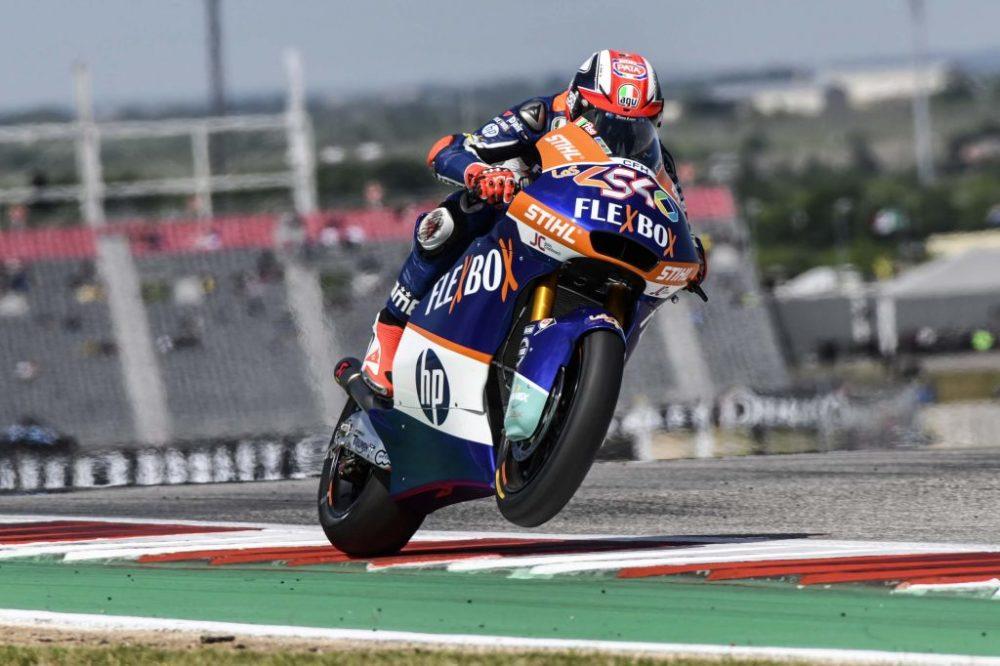 """Moto2 – Mattia Pasini: """"Demonstrei que mereço uma moto no campeonato"""""""