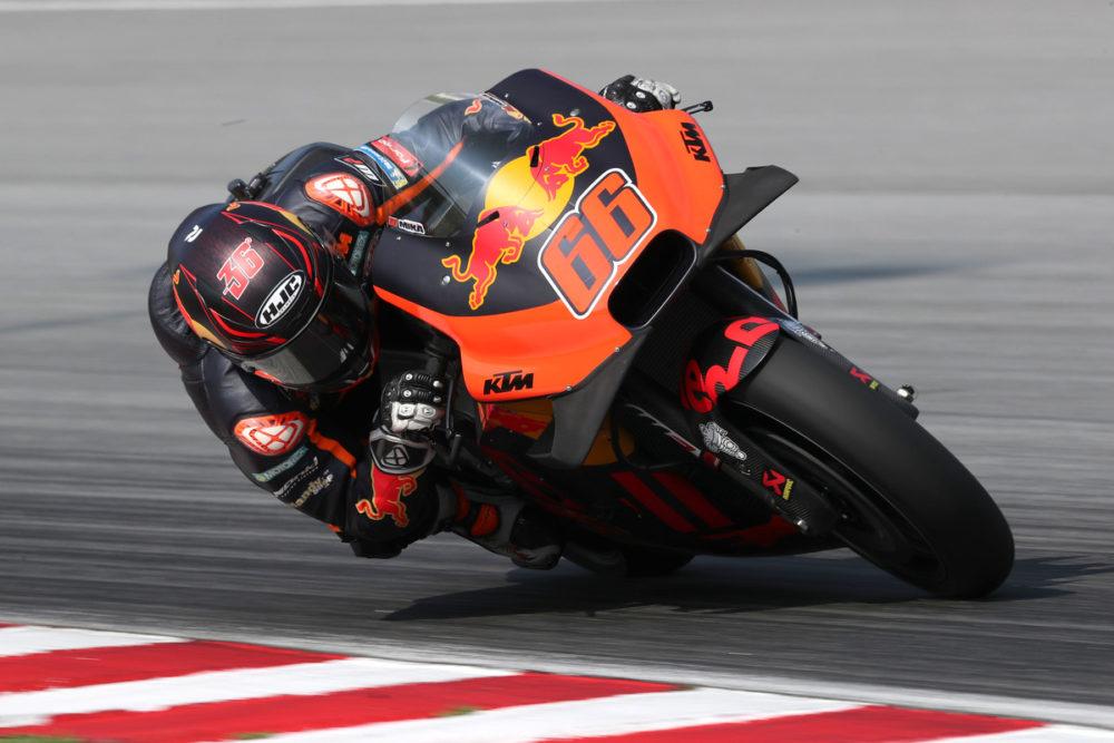 MotoGP: KTM continua testou em Le Mans