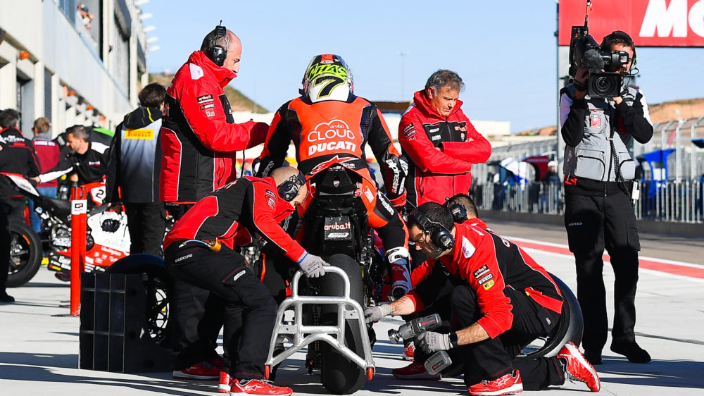 SBK: Ducati testa em Imola