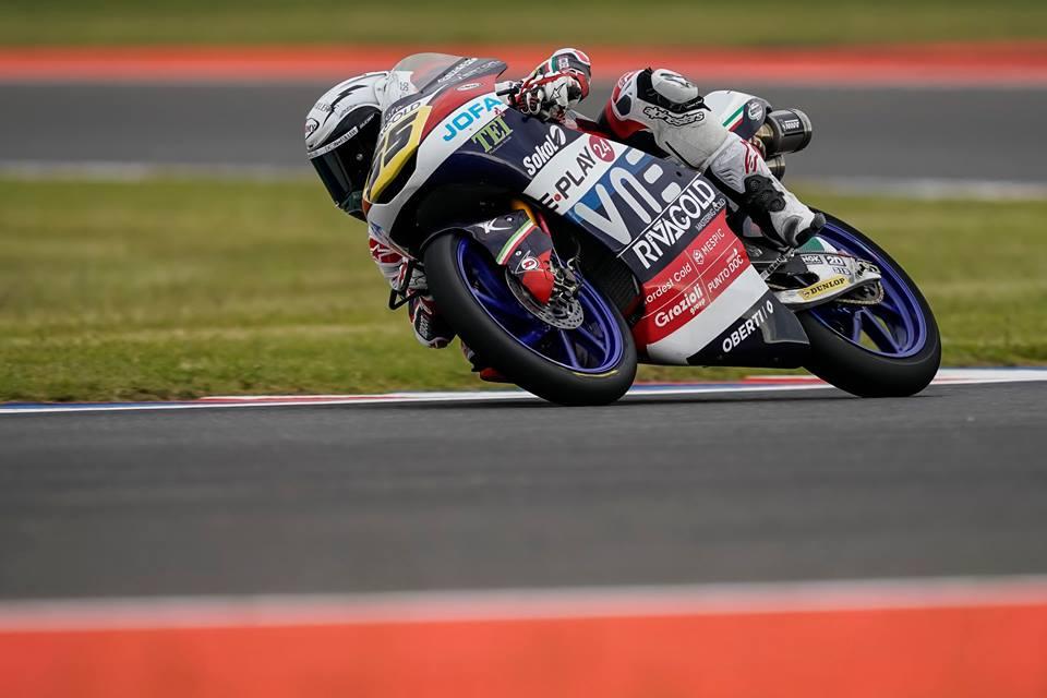 Moto3: Fenati estreia-se na Pole esta época