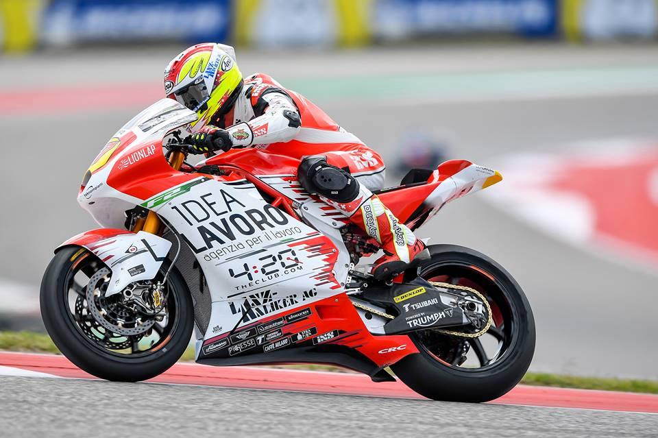 Moto2: MV Agusta pontua uma vida depois