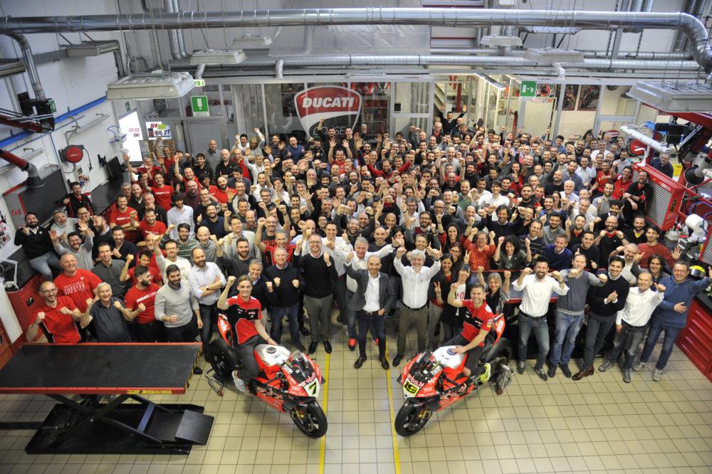 SBK: Ducati ultrapassa as 350 vitórias