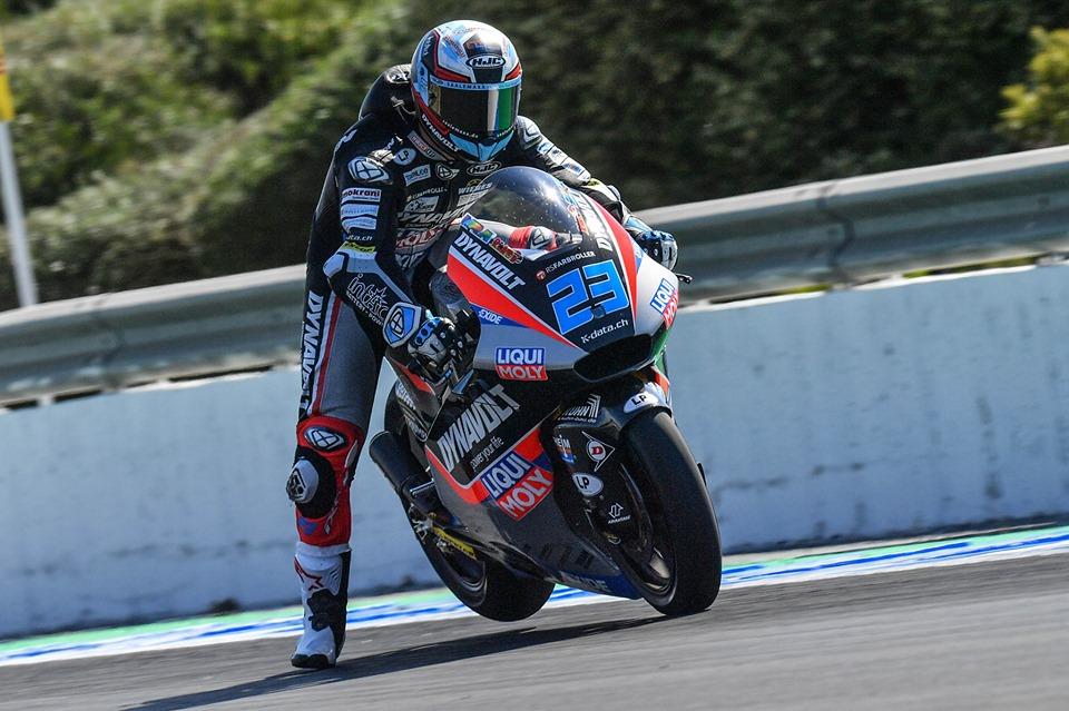 Moto2: Schrotter lidera passagem à Q2
