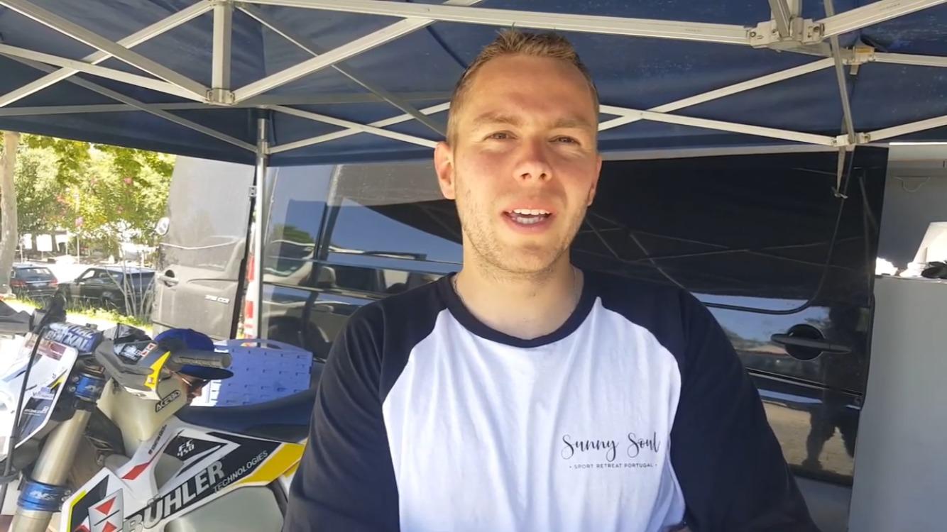 Sebastian Buhler comenta a sua vitória na 1a etapa de Reguengos ( vídeo)