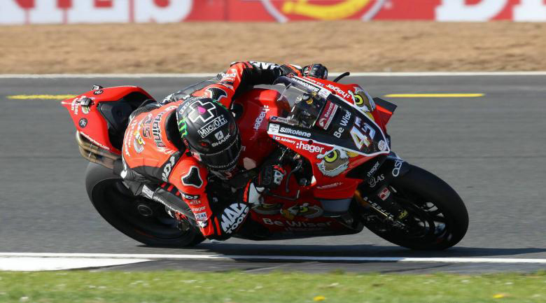 BSB: Ducati de Redding e Brookes dominam warm up
