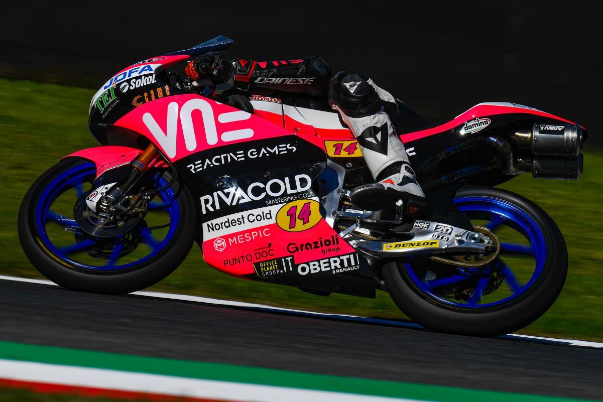 Moto3: Arbolino lidera FP3 com recorde