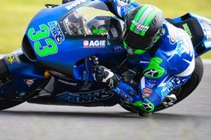 Moto2, 2020, Brno: Bastianini o mais rápido, Lowes à frente no agregado thumbnail