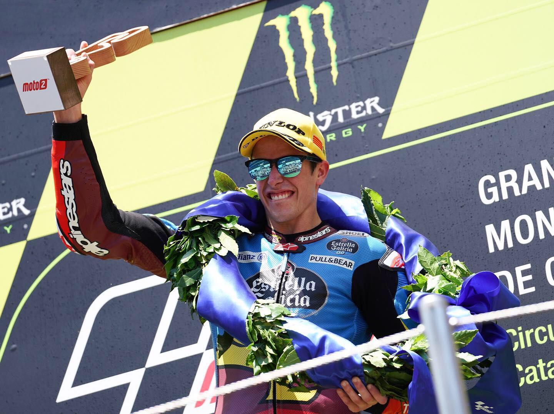 Moto2: Para Marquez, não há duas sem três