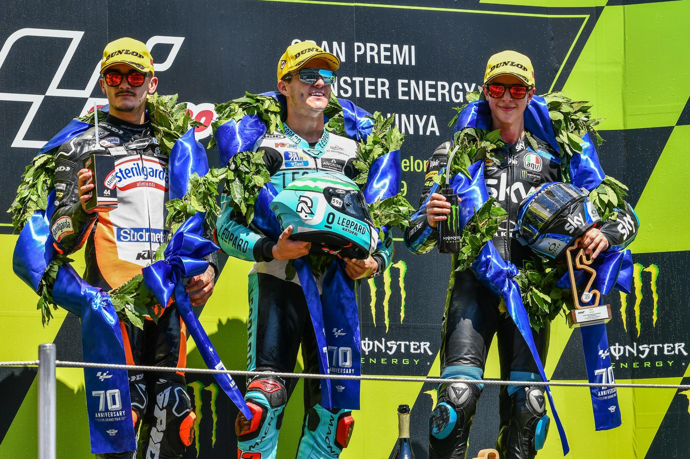 Moto3: Ramirez vence corrida de cortar a respiração